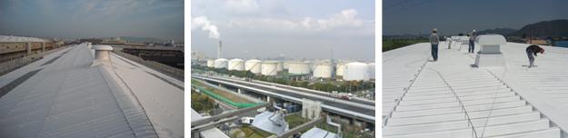 屋根にシポフェース:省エネ技術